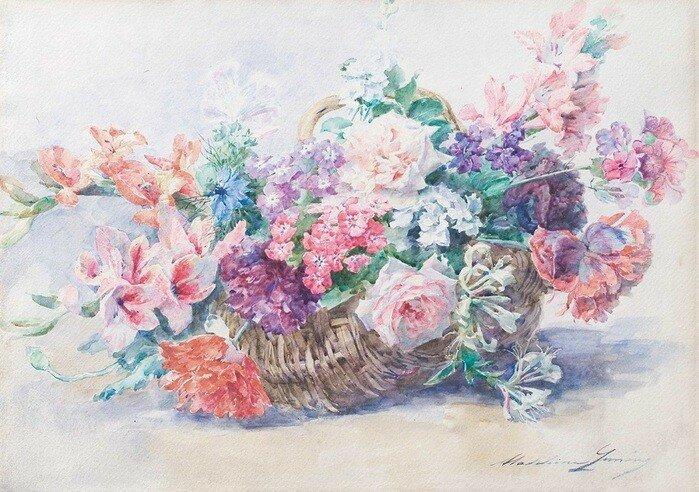 Императрица роз— французская художница Мадлен Лёмер
