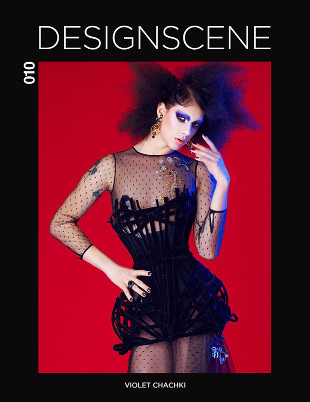 Who better to cover our first September issue of DESIGN SCENE Magazine than VIOLET CHACHKI , a moder