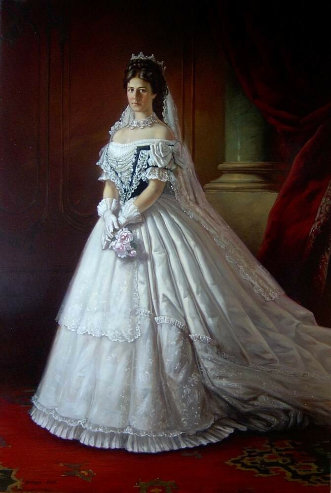 1867 Sissi wearing her Hungarian coronation dress.jpg