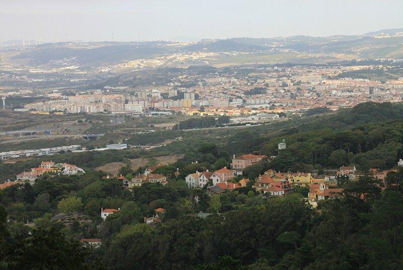 Синтра, вид сверху(Sintra, view from above)