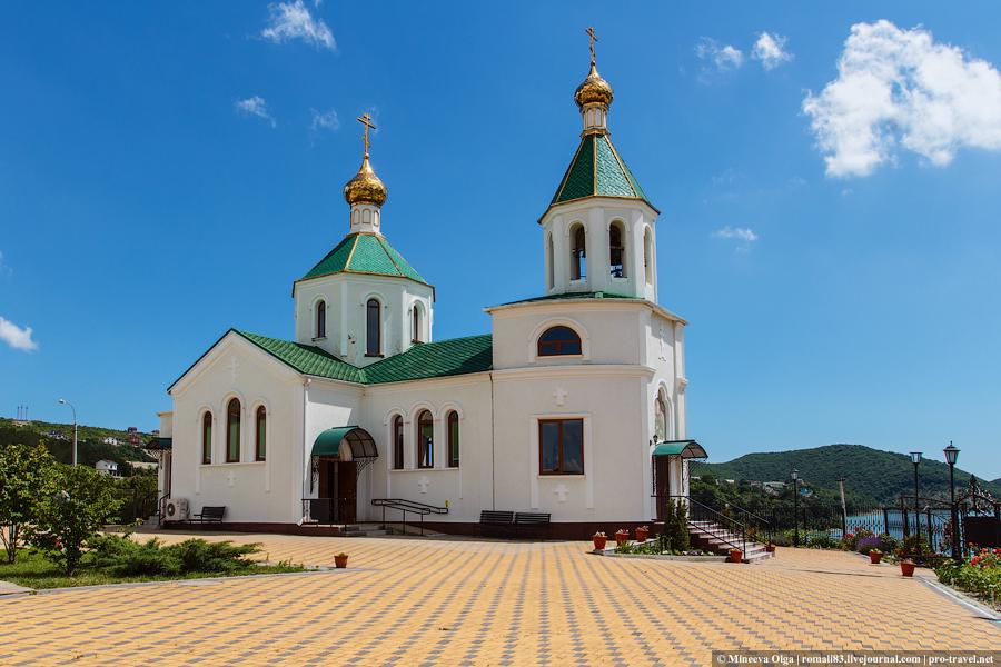 Церковь Святой Ксении Петербургской в Абрау-Дюрсо