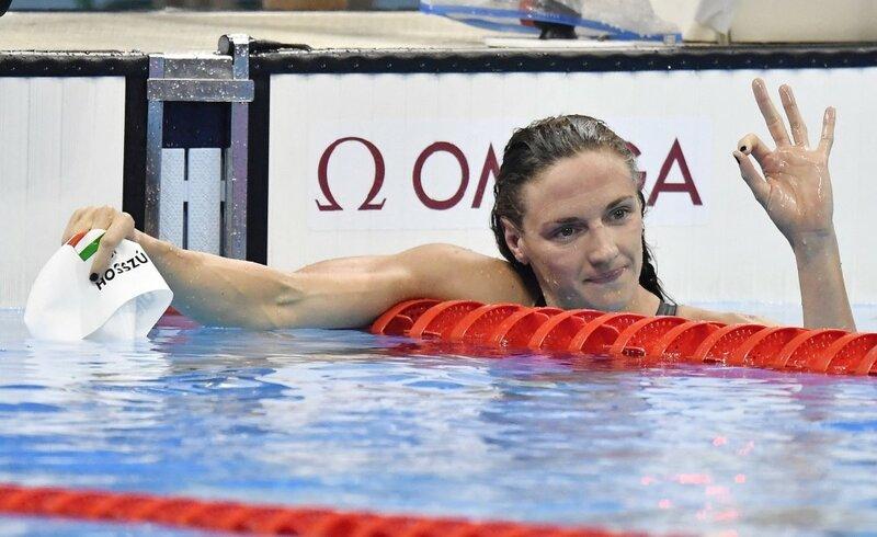 Rio 2016 - Úszás - Hosszú Katinka olimpiai bajnok 200 méter