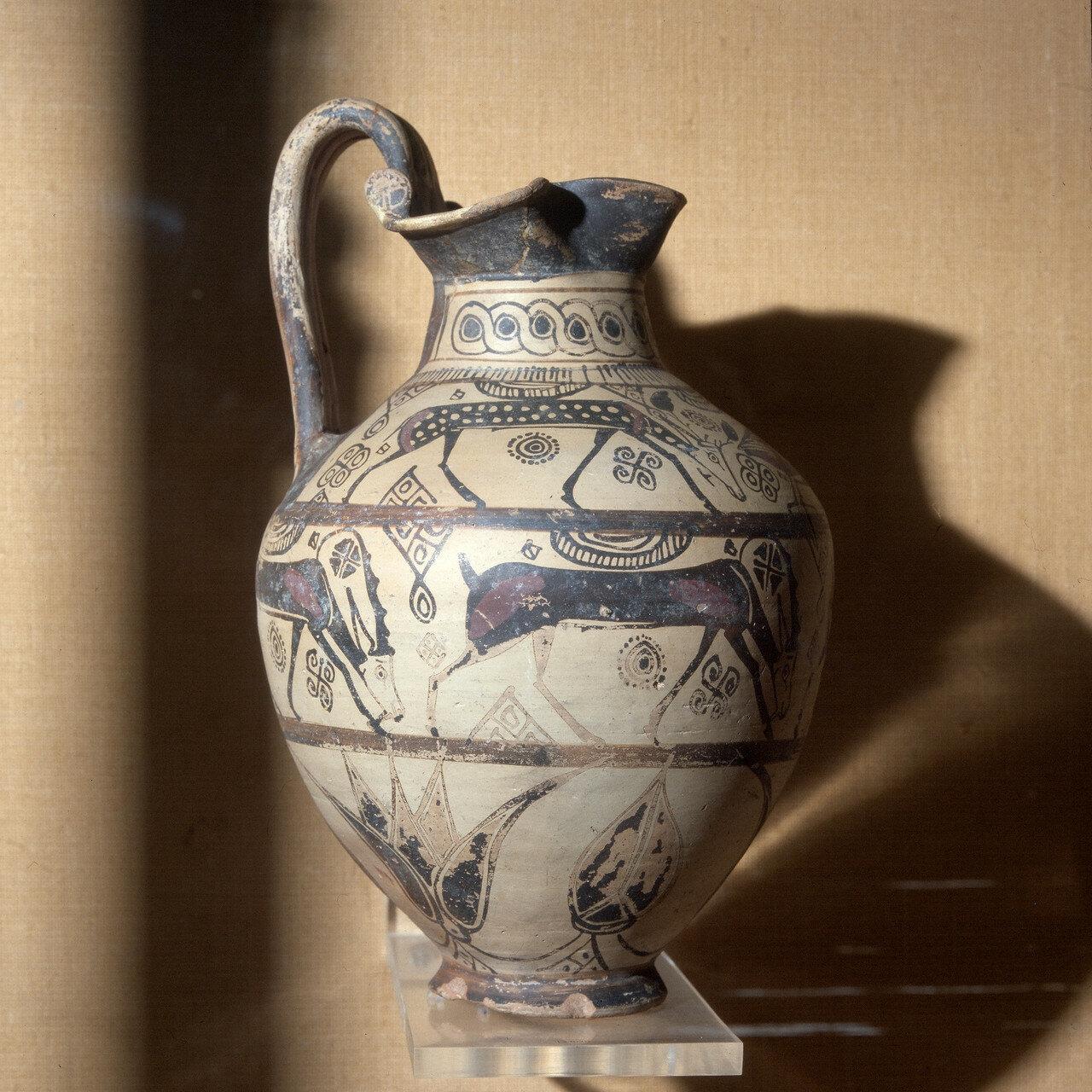 Родос, Археологический музей. Ойнохоя,  VII в. до н.э.