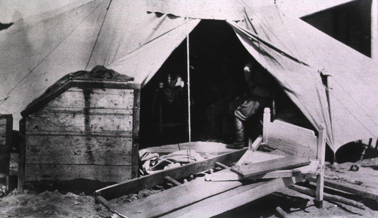 Вид палатки с внешней стороны