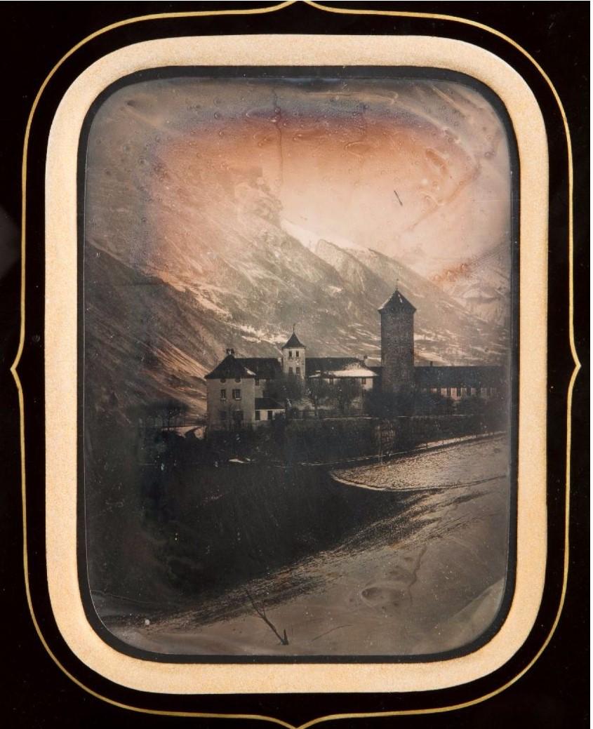 1845. Швейцария. Госпиция в Гримзеле (горный проход в Бернских Альпах)