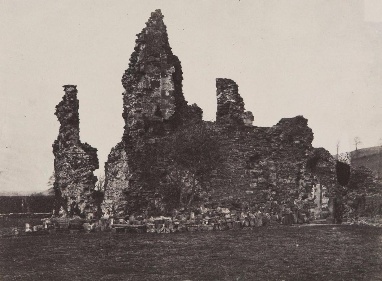1855. Джерси. Руины