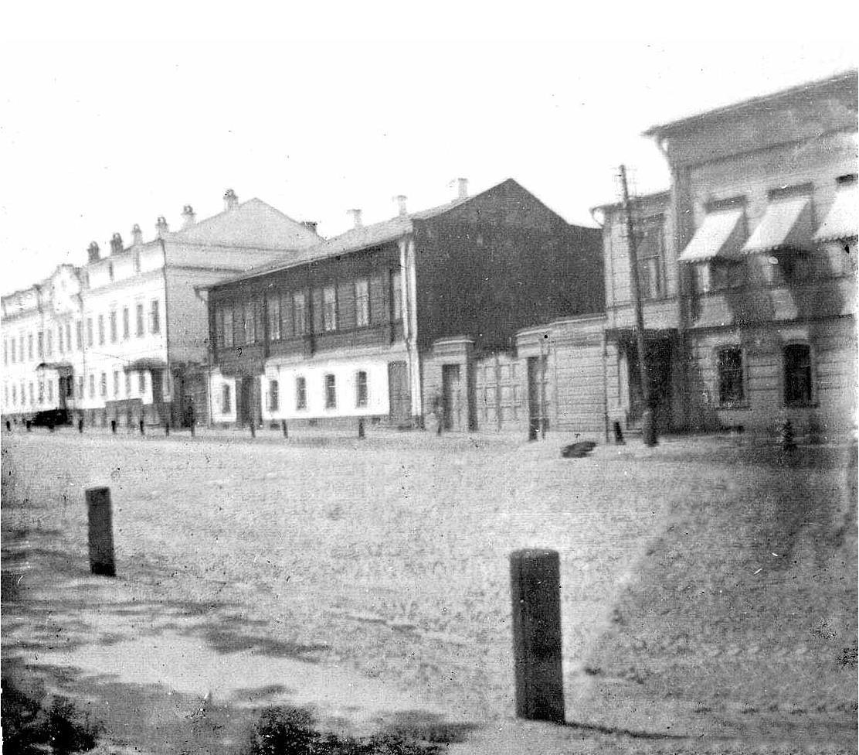 Большая Нижегородская улица. Левая сторона, вид с юга. 1909-1917