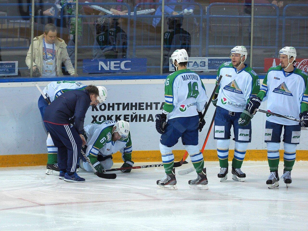 43Плей-офф 2016 Восток Финал Металлург - Салават Юлаев 31.03.2016