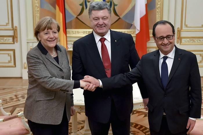 """Переговоры лидеров Германии, Франции и РФ по Сирии """"были жесткими и трудными"""", - Меркель"""
