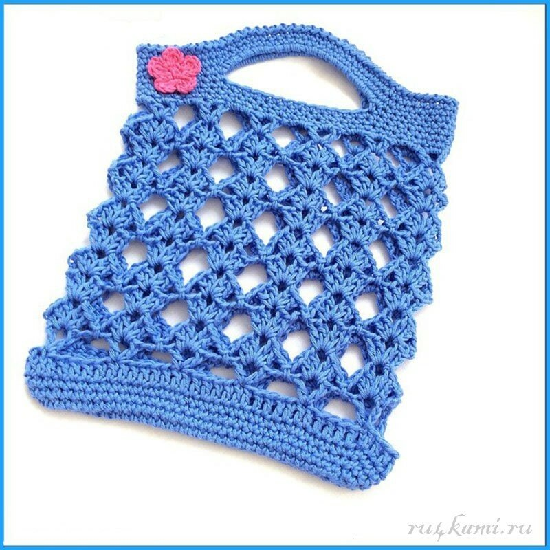 «Авоська», сумка крючком (5)