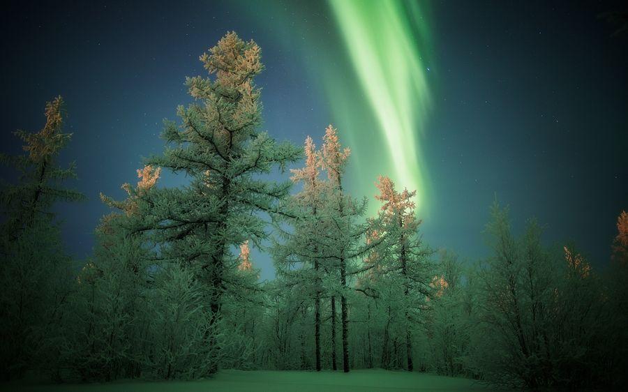 Пейзажи зимы фото