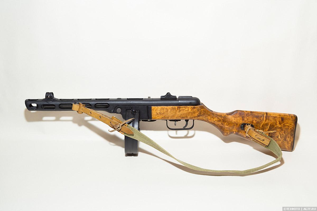 Пистолет-пулемет образца 1941 года конструкции Шпагина