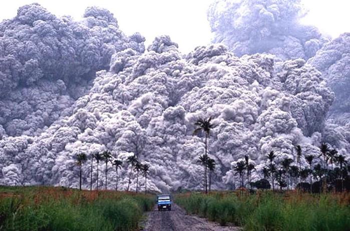 Извержения вулканов, повлиявших на ход истории