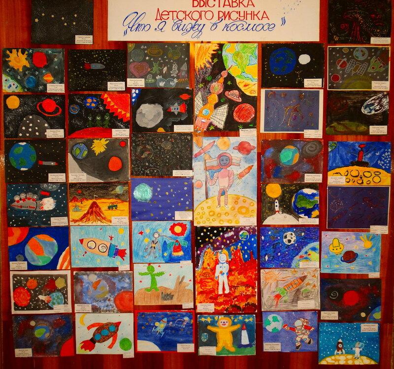 Выставка о Космосе
