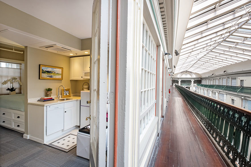 В лофтах нет плит для приготовления пищи, поскольку помещения предназначены для людей, ведущих актив