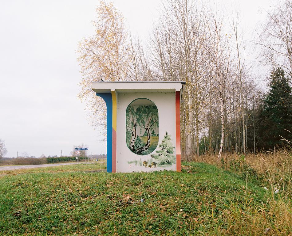 Шедевральные автобусные остановки в Белоруссии