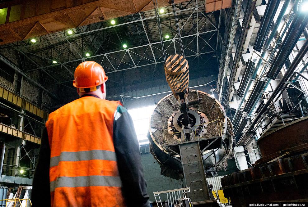 7. Оборудованием «Силовых машин» оснащено 27 атомных электростанций в мире.  На фото: Самый
