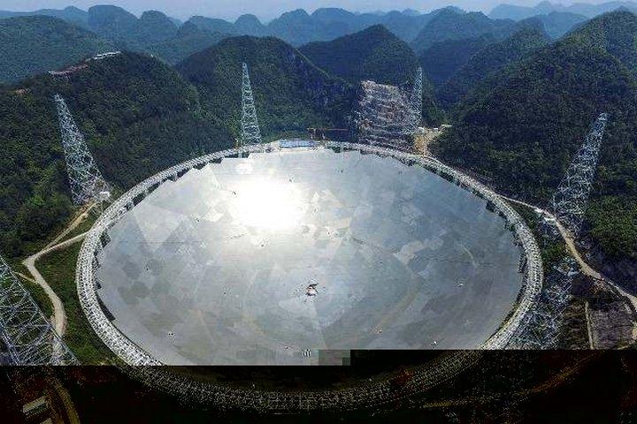 В Китае завершается строительство самого крупного в мире радиотелескопа