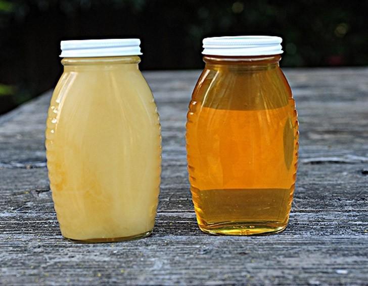 Декристаллизация меда Мед кажется вам слишком густым? Если он кристаллизовался, поставьте банку без