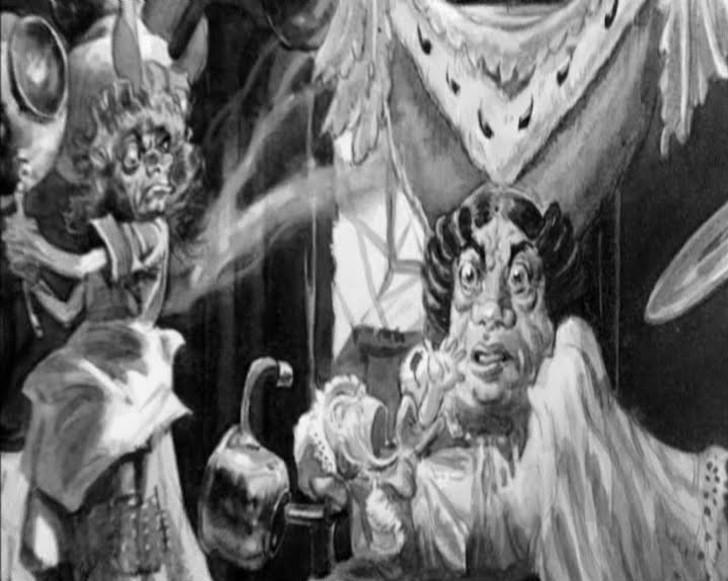 Безобразная герцогиня Поклонники книги Льюиса Кэрролла, вероятно, помнят жуткую сцену, где Алиса вст