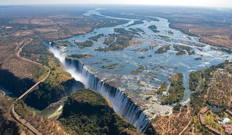 самые красивые водопады: Виктория