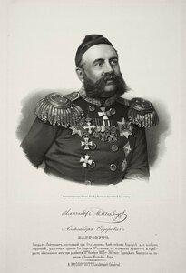 Александр Федорович Багговут, генерал-лейтенант
