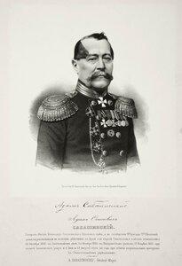 Адам Осипович Сабашинский, генерал-майор, командир Селенгинского пехотного полка