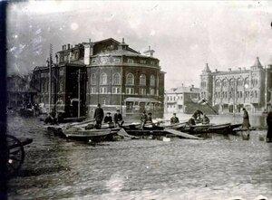 Разлив реки Черемухи на Театральной площади