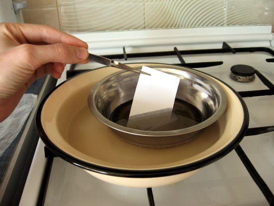 Как сделать вощёную бумагу