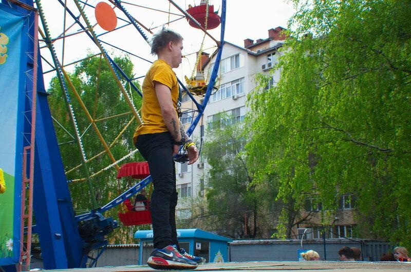 Открытие сезона в городском парке, Саратов, 01 мая 2016 года