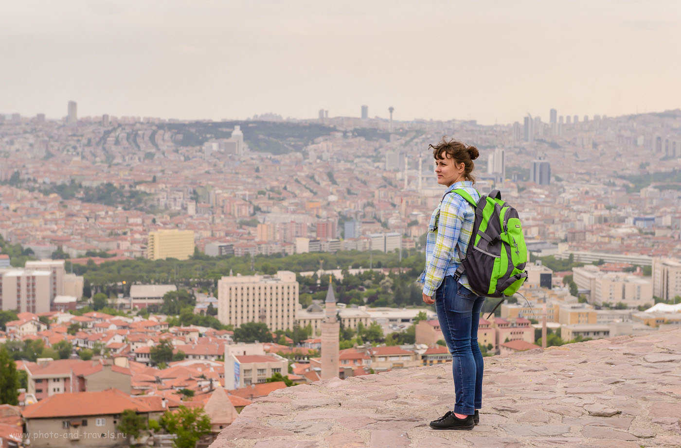 Фото 14. На крепостной стене в Анкаре. Отзывы туристов о самостоятельном отдыхе в Турции. 1/400, 0.67, 5.6, 1000, 70.