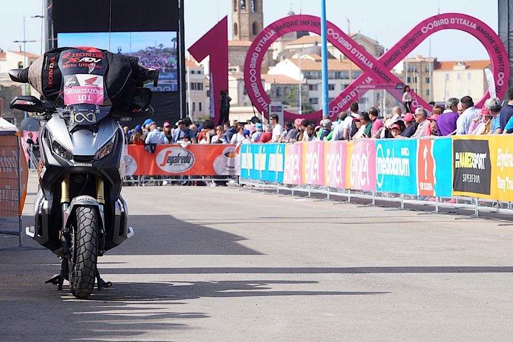 Компания Honda предоставит транспорт поддержки для Джиро д'Италия 2017