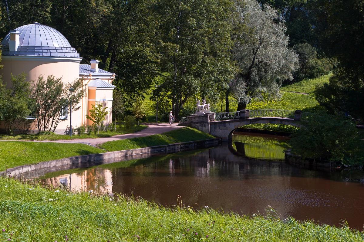 Окрестности Петербурга - Павловск