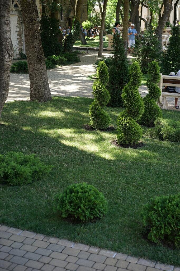 """Культурный центр """"Старый парк"""". Ландшафтный дизайн."""