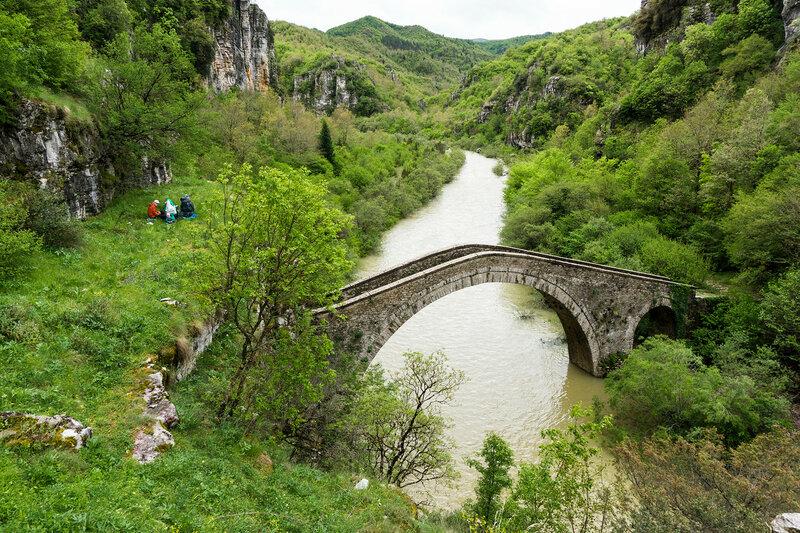 мост Мисиос-Витса (Misios - Vitsa bridge)