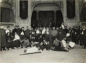 1914. Большой дворец, ставший больницей для раненых. 15.10