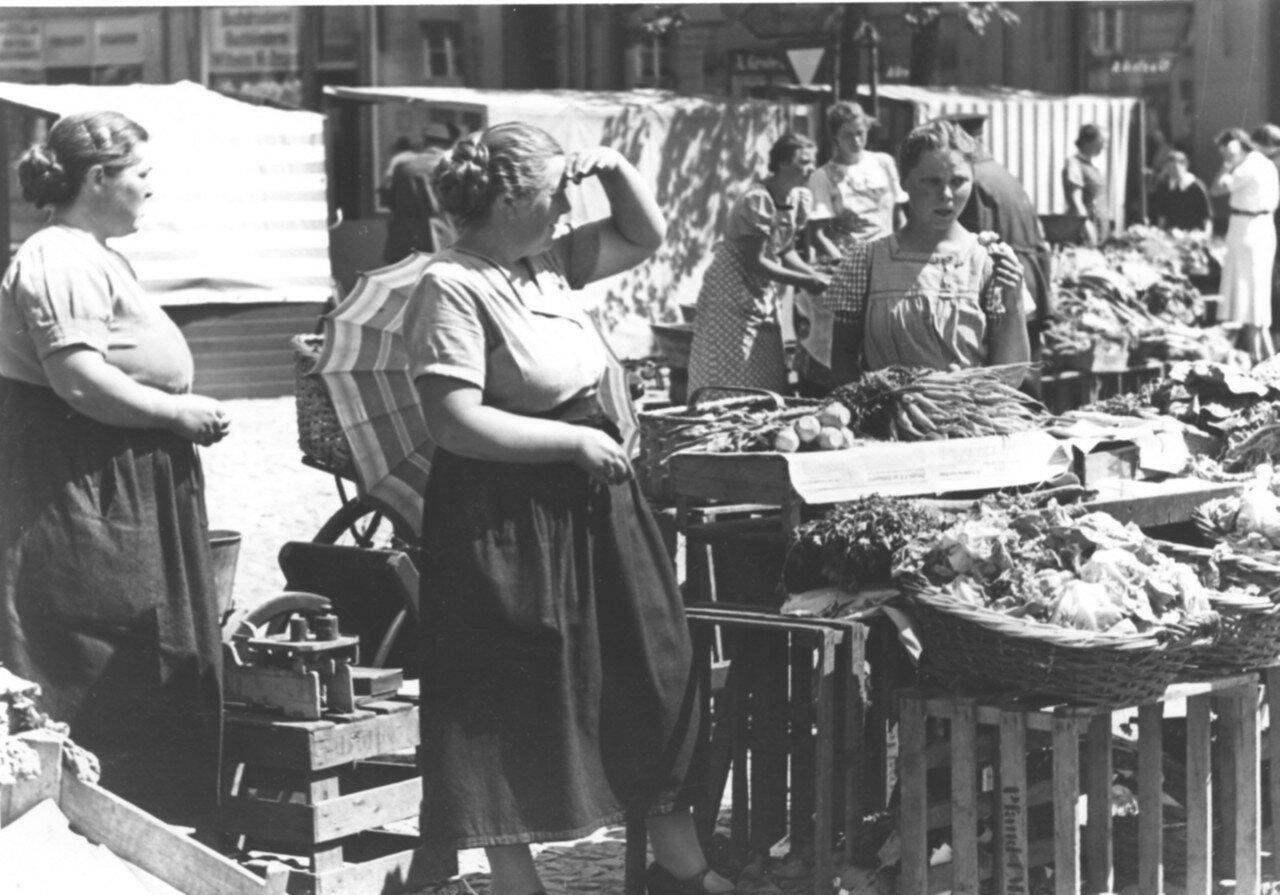 Люнебург. Рынок