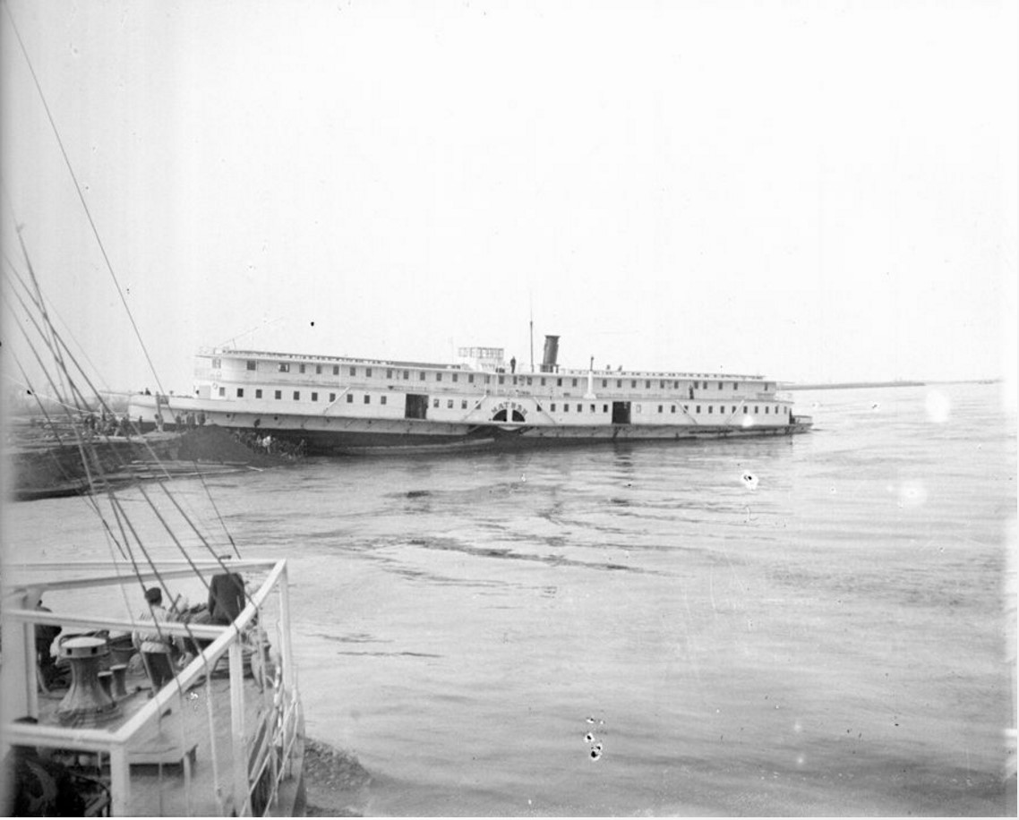 1890-1900. Пассажирский пароход «Матвей». Нижний Новгород