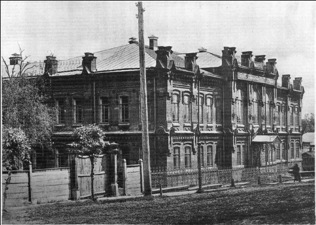 Дом Вятской гимназии, пожертвованный почетным попечителем Т.Ф. Булычевым