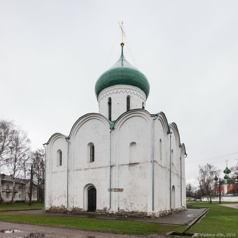 Спасо-Преображенский собор. Красная площадь. Переславль-Залесский.