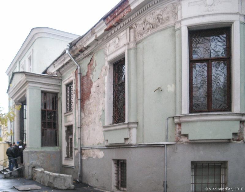 Особняк Маргариты в Малом Власьевском 12