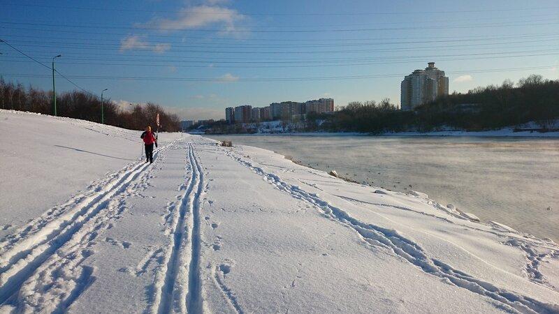 Наконец-то опять снег, или тест лыжных ботинок One way
