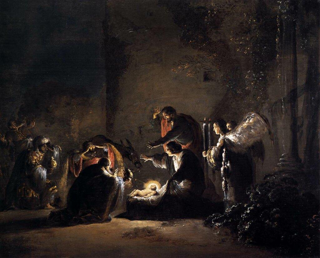 Leonaert_Bramer_-_The_Adoration_of_the_Magi_-_WGA03078 ок. 1628-30.jpg