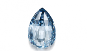 Голубой бриллиант продан в США по рекордно высокой цене