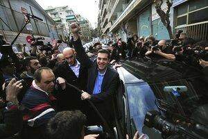 В Греции парламентские выборы выиграла партия СИРИЗА