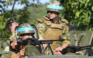 Миротворцы в Приднестровье провели учения