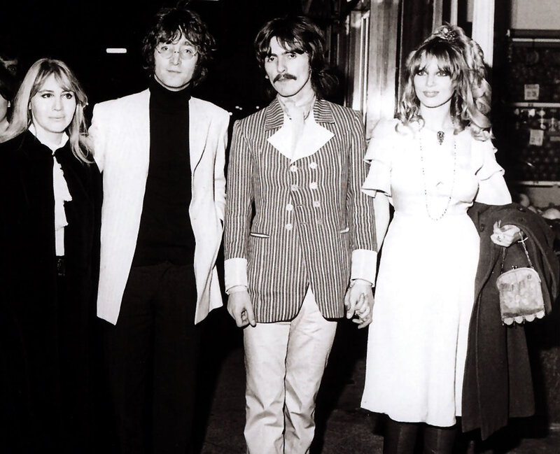 527 Джон и Синтия, Джордж и Патти, 1968 год.jpg