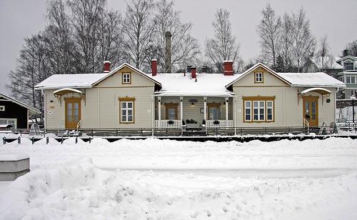 Отдых в Финляндии зимой - город Лахти