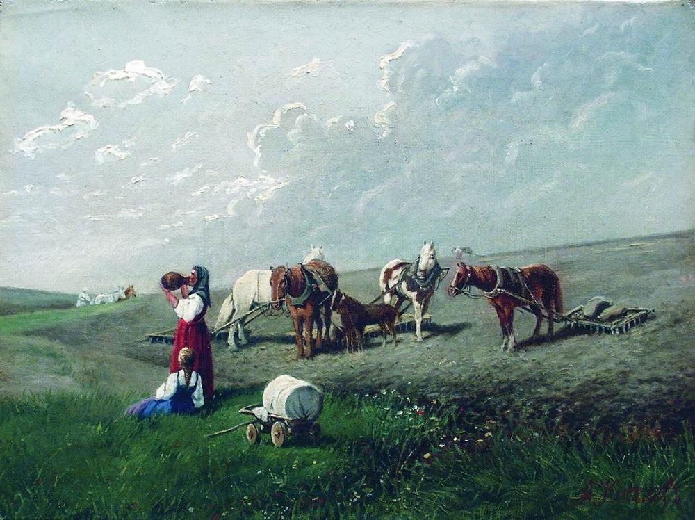 Знойный полдень. Отдых 1870-е холст масло.jpg