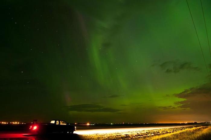 Красивые фотографии полярного сияния 0 10d608 58a94a7b orig